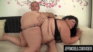 Naughty Fat Juicy Jazmynne Punished with a Spanking Before Getting Plowed