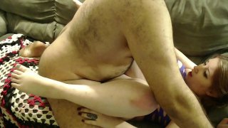 Daughter Suffocates On Dads Cock