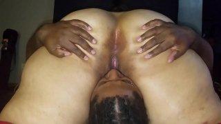 Black sex slave licked my wet pussy so good. Next time I will make him eat my ass.     latinaxxxheat