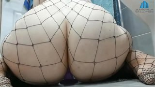 jackoffcity.com  Giant Booty PAWG Bounces Her Huge Booty on Dildo