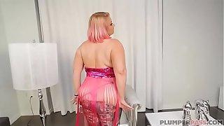 Busty BBW Legend Samantha 38G Swallows BBC Cock