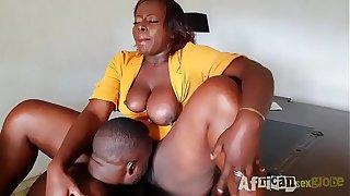 bbw secretary get fucked by her boss
