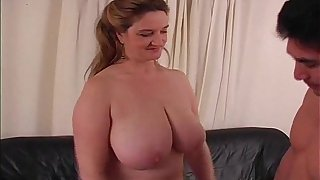 Handjob From My BBW Sister