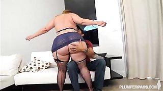 Big Booty PAWG Mazzaratie Monica Banged by Latino Stud