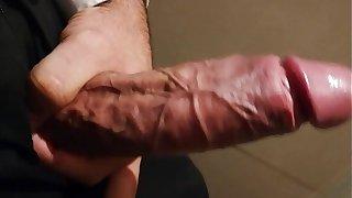 My big fat cock cumshot