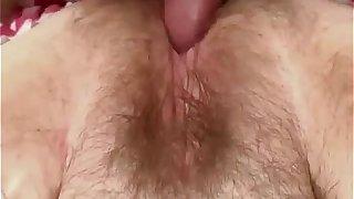 Hairy BBW slit fucked