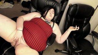 BBW Porn Addict Has Her First Multiple Orgasm