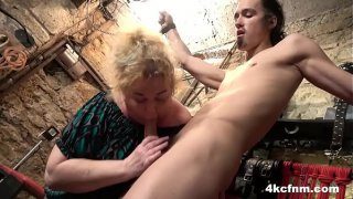 FemDom BBW Is So Hungry She Could Eat a Cock!